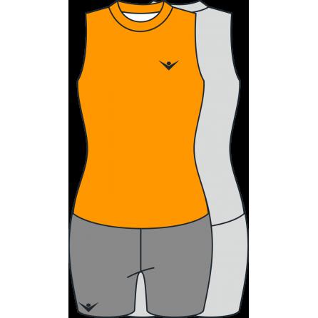Женская волейбольная форма без рукава
