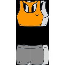 Пляжная женская волейбольная форма