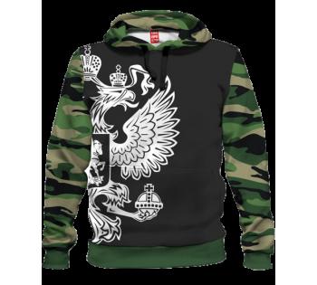 """Камуфляжное худи """"ГЕРБ"""""""